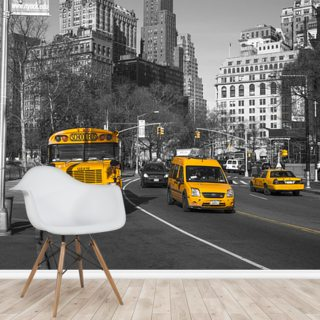 New York School Bus and Taxis