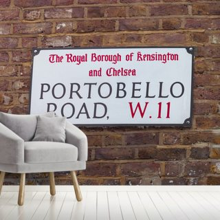 Portobello Road Sign