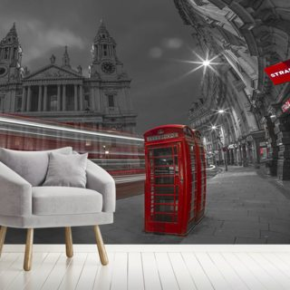London Telephone Booth Colour Splash