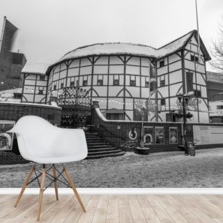 Globe Theatre During Wintertime