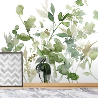 Garden Sage Wallpaper Wall Murals