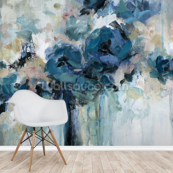 Midnight Splash wall mural room setting