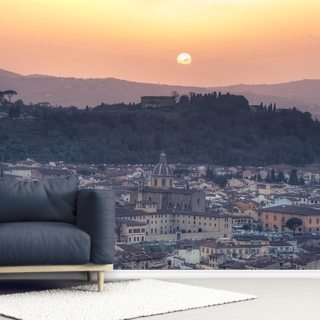 Florence Sunset Wallpaper Wall Murals