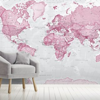World Political Pink