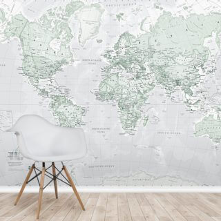 World Political Rustic Wallpaper Wall Murals
