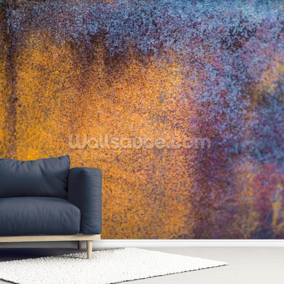 Oxidize wallpaper mural room setting
