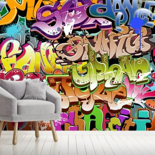 The Words Wallpaper Wall Murals