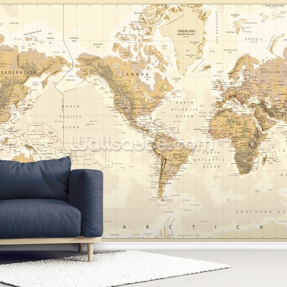 America Centered World Map Wallpaper Wallsauce Us - Us-centered-world-map