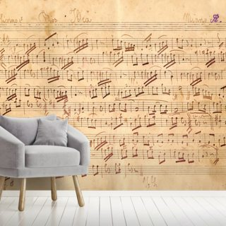 Antique Music Sheet