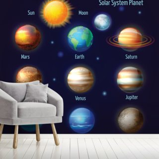 Solar System Pictogram