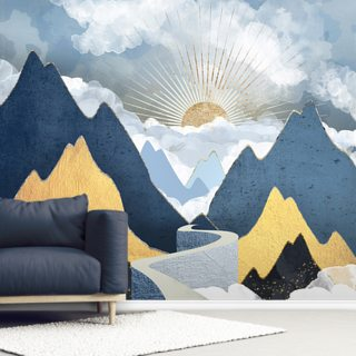 Bright Future II Wallpaper Wall Murals