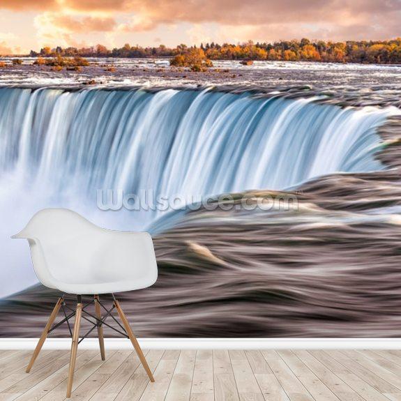 The Sun Rises Over Niagara Falls
