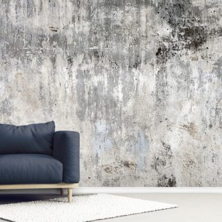 Smooth and Old Wallpaper Wall Murals