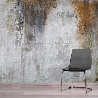 Aged Concrete Wallpaper Wall Murals