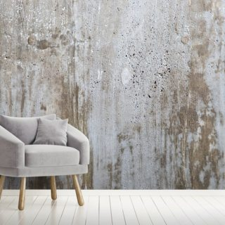Concrete in Distress Wallpaper Wall Murals