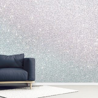 Silver Sparkle Wallpaper Wall Murals