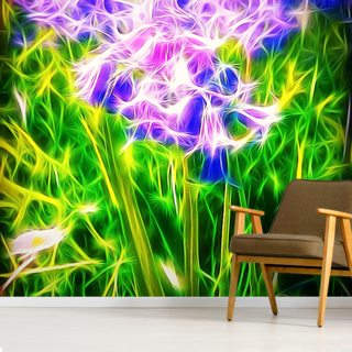Light Bluebells Wallpaper Wall Murals