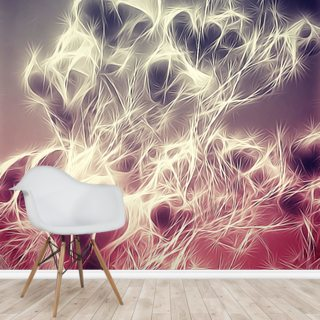 Light Monochrome Magnolia Wallpaper Wall Murals