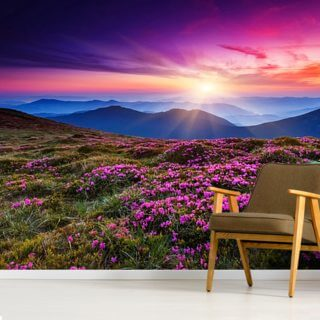 Purple World Wallpaper Wall Murals