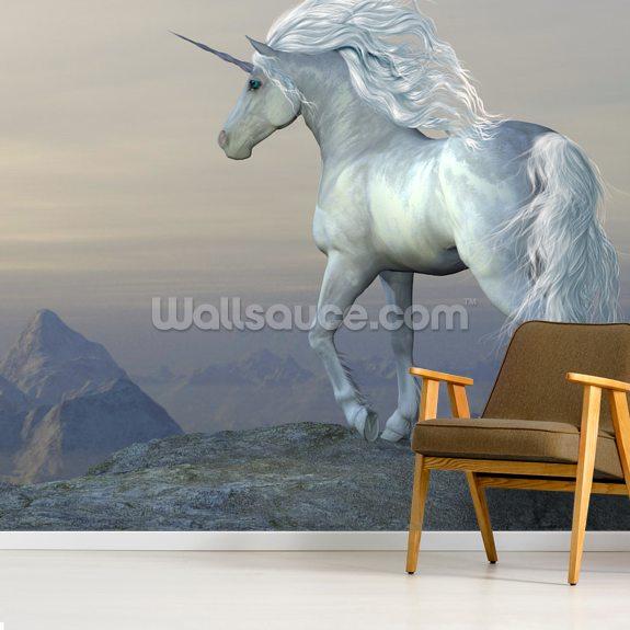 Fairytale Unicorn Wallpaper Wallsauce Us