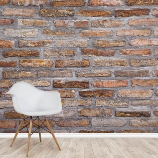 Background Pattern of Old Brick Wall Texture