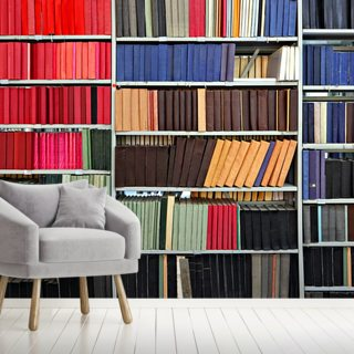 Colourful Library