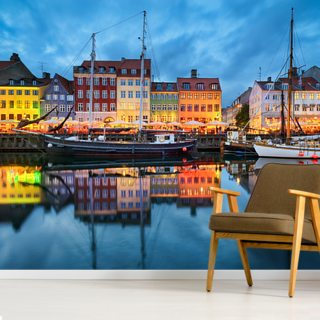 Denmark wallpaper wall murals wallsauce uk - Copenhagen wallpaper ...