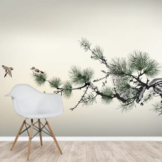 Pain Tree Wallpaper Wall Murals