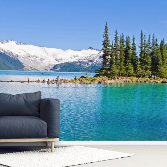 Garibaldi Lake, BC wallpaper mural room setting