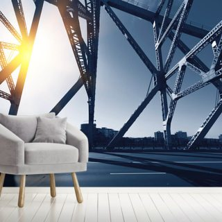 Brisbane City Bridge Wallpaper Wall Murals
