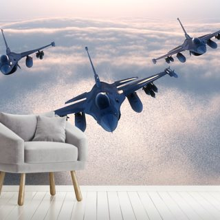 Fighter Jets Wallpaper Wall Murals