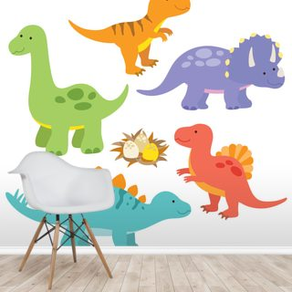Childrens Dinosaurs Drawing
