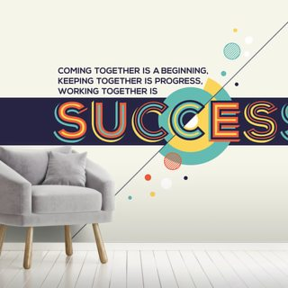 Success Wallpaper Wall Murals
