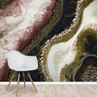 Geode Wallpaper Wall Murals
