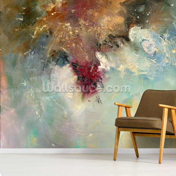 Vast Desire wall mural room setting