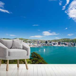 Bay of Wellington Wallpaper Wall Murals