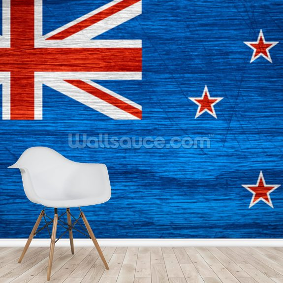 New Zealand Flag Wallpaper Mural Wallsauce Nz