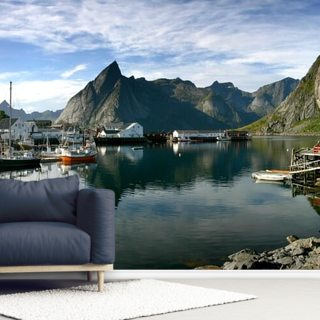 Hamnoy Wallpaper Wall Murals