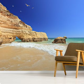 Algarve - Praia da Rocha Wallpaper Wall Murals