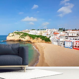 Algarve - Carvoeiro Beach Wallpaper Wall Murals