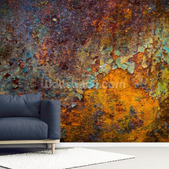 Core of Corrosion wall mural room setting