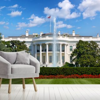 The White House Wallpaper Wall Murals