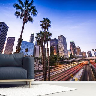 Downtown Los Angeles Wallpaper Wall Murals