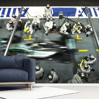 Lewis Hamilton Singapore 14 Wallpaper Wall Murals