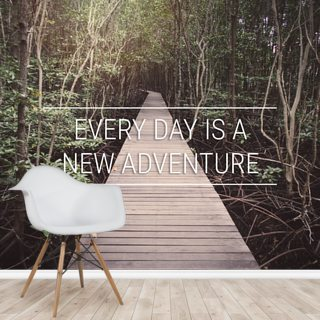 A New Adventure Wallpaper Wall Murals
