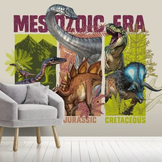 Mesozoic Era Wallpaper Wall Murals