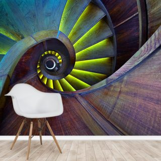 Crazy Eye Wallpaper Wall Murals