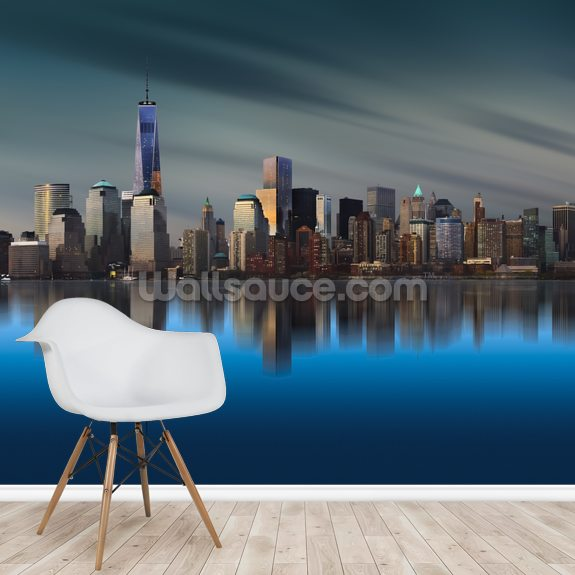 New York - World Trade 1 wallpaper mural room setting