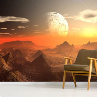Valley of the Alien Kings Wallpaper Wall Murals