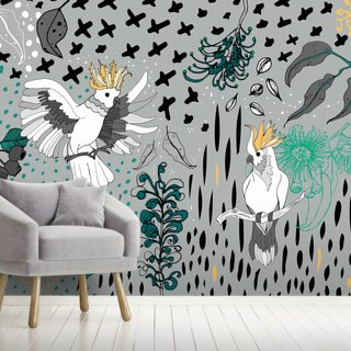 Soul Birds Cockatoo Wallpaper Wall Murals